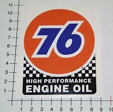 76 Gasoline Engine oil Pegatina Sticker rythm Burnout Hot Rod us cars mi340