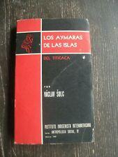 Los Aymaras de las Islas del Titicaca. Por Václav Šolc