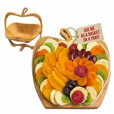 Dried Fruit Gift Basket – Healthy Gourmet Snack Box - Holiday Food Tray