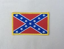 Confederate Flag Coat Sleeve Patch EMBROIDERED 13 STARS  Iron-on