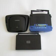 D-Link DIR-615 - Linksys WRT160N Wireless N - Linksys WRT54GS v.5 Routers