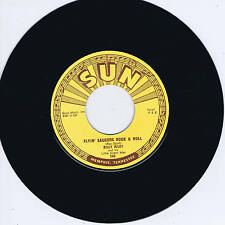 BILLY RILEY - FLYING SAUCERS R'n'R / WANT YOU BABY (Killer SUN label ROCKABILLY