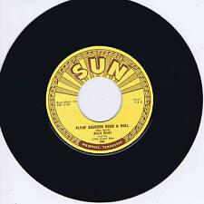 BILLY RILEY - FLYING SAUCERS R'n'R / WANT YOU BABY (Killer SUN label ROCKABILLY