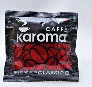 150 Caffe Karoma ESE 44mm Coffee Pods [Classico] - FREE P&P