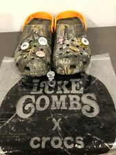 Luke Combs X Crocs Realtree Camo Limited Edition Mens Size 9 Womens 11 In Hand For Sale Online Ebay