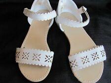 Gymboree White Sandals Size 10