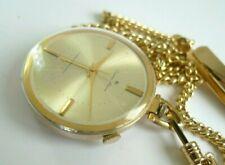 Alarm Pocket Watch....Citizen 4-Hand Alarm 17 Jewels Antishock