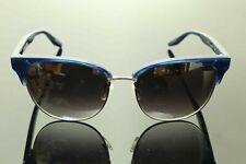 Authentic B. PERREIRA Sunglasses CAMDEN 55 Titanium Women Cobalt Gradient Mirror