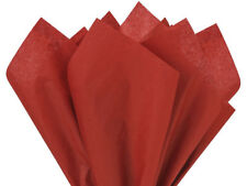"Scarlet Red Tissue Paper 480 Sheets 15x20"" Christmas Gift Wrap Crafts Weddings"