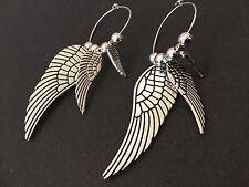 Bijoux interchangeable Hoop earrings with Angel Wings