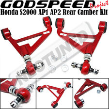For Honda S2000 00-09 AP1 AP2 Godspeed Adjustable Rear Upper Arm Kit Ball Joints
