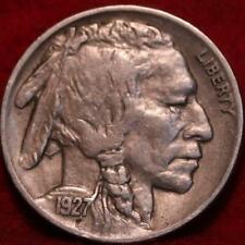 1927 Philadelphia Mint  Buffalo Nickel