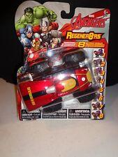 """Marvel -IRON MAN Mini 3"""" Regener8'ers Toy Vehicle Car New"""
