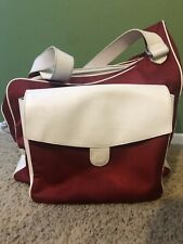Cortiglia Sport Red Tennis Messenger Bag