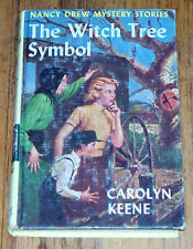 Vintage Nancy Drew Mystery Stories The Witch Tree Symbol HB Book Children's