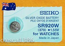 SR920W (370) Seiko Battery, Brand New