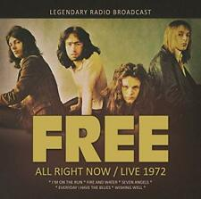 FREE  All Right Now Live1972  ( Neues Album 2020 )  CD  NEU & OVP