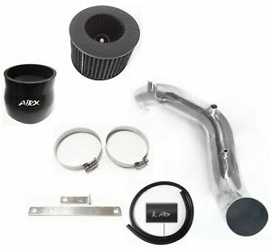 AirX Racing Black For 2002-2006 Acura RSX Type-S Coupe 2.0L L4 Air Intake Kit