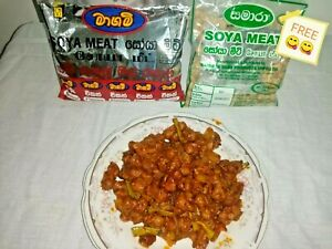 MAGAM SOYA MEAT Chicken Flavour Nutritious, quality,(1 Soya Meat packet free)