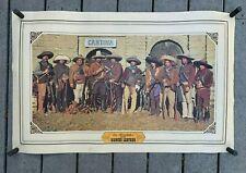 "VTG 1978 BIANCHI Leather ""Los Bandidos"" Promotional Advertising Poster 22""x 36"""