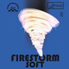Der Materialspezialist Belag Firestorm Soft (Kurznoppe)