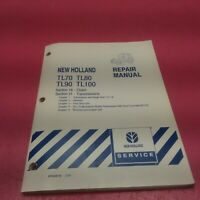 NEW HOLLAND TRACTOR REPAIR MANUAL TL70, TL80, TL90, TL100 SECTION 18, 21 (LT234)