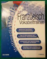 Französisch -Lernsoftware / Vokabeltrainer /Multimedia CD-Rom