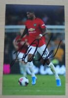 Marcus Rashford Hand Signed 6x4 Photo Manchester United England Autograph + COA