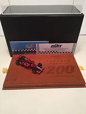 1/43 BBR Ferrari F2007 F1 GP China 2007 K. Raikkonen 200 Victory Lim 200 EX26