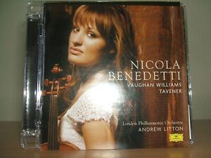 NICOLA BENEDETTI - Vaughan Williams / Tavener CD 2007 Universal 476 619-8