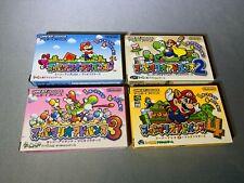 Super Mario GameBoy Advance 1 2 3 4 World Yoshi's Island Japan Import Brand New