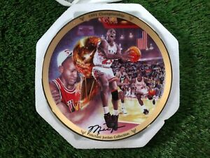 Michael Jordan 1991 Championship Bradford Exchange Upper Deck Collectors Plate
