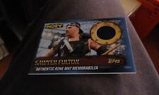 Topps Slam Attax 10th Edition Authentic Ring Mat Memorabilia Sawyer Fulton