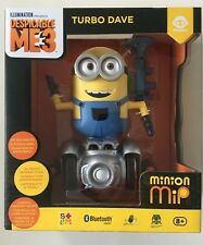 DESPICABLE ME 3 MINION MIP TURBO DAVE SELF BALANCING ROBOT TOY WowWee 2017 NEW!!