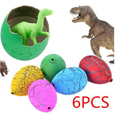 6X Child Magic Growing Dino Eggs Hatching Dinosaur Add Water Inflatable Kid Toy