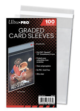 Ultra PRO 81307 Graded Card Sleeve Resealable - 100 Count
