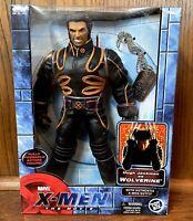 "Wolverine Vintage X-Men The Movie 10"" Action Figure Doll New NIB Toybiz 2000"