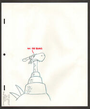 "Flintstones Animation Art - ""Rock Rockstone"" Dinosaur Element Scene 3"