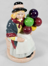 Vintage BALLOON GIRL 1981 ROYAL DOULTON Porcelain Figurine HN2818
