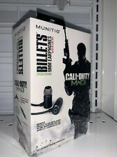 Munitio Call of Duty MW3 In-Ear Only Headphones - Black