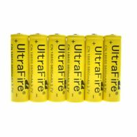 18650 Battery 9800mAh 3.7V Li-lon Rechargeable Charger For Flashlight