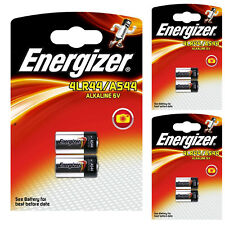 6 x Energizer 4LR44 6V Alkaline Batteries A544 PX28A AG13 476A 28A L1325 Battery