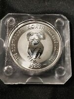 1988 Australia 1/4 oz Platinum Koala $25 - First Year of Issue - Uncirculated