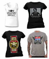 OFFICIAL Supernatural T Shirt Winchester Brothers Sam Dean Ladies Vest Unisex