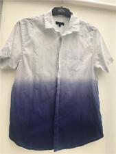 "Jasper Conran Mens Dip Dye  Shirt blue dots chest 42"" M  New no tag cl1"