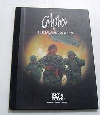 ALPHA  (LE FIGARO) . 3 . Le salaire des loups . JIGOUNOV , MYTHIC . BD LOMBARD