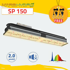 Mars Hydro SP 150 LED Grow Light Full Spectrum Hydroponics Indoor Grow Lamp Kit