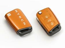 Genuine SEAT Accessories Ateca Key Cover Samoa Orange 575087013X2U Car Style