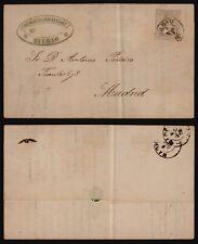 Spain 1873 - Cover Bilbao to Madrid E318