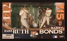 2006 McFarlane Sportspicks Babe Ruth Barry Bonds MLB Homerun Kings Figure Sealed